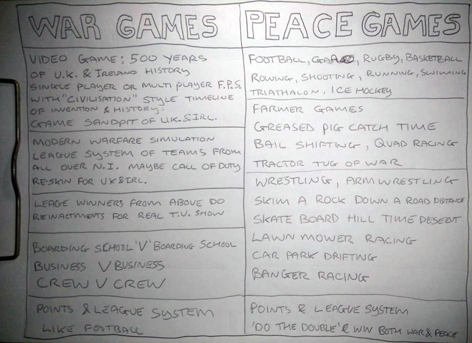 peace games